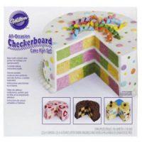 Wilton All Occasion Checkerboard Cake Pan Set