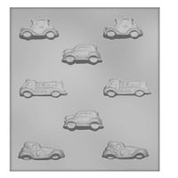 Cars/Fire Trucks Chocolate Mould