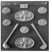 Golf Chocolate Mould