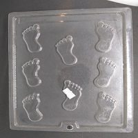 Feet Chocolate Mould