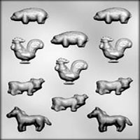 Farm Animals Chocolate Mould
