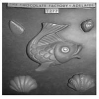 Large Fish Shells Chocolate Mould