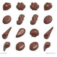 Shells, Acorns, Leaves Chocolate Mould
