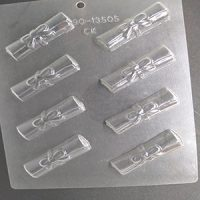 Scroll Graduation Chocolate Mould
