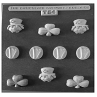 Clover Leaf Chocolate Mould