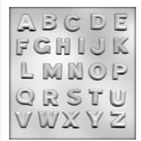 Alphabet Candy Mould