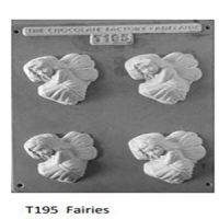 Fairies Chocolate Mould