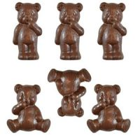 Teddy Bears Chocolate Mould