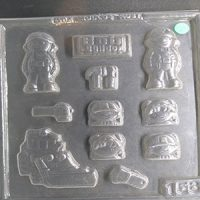 Bob The Builder Chocolate Mould