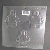 Lego Man Chocolate Mould