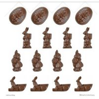 Easter 3D Rabbit Chocolate Mould