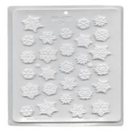 Snowflakes Candy Mould