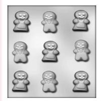 Gingerbread People Chocolate Mould
