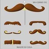 Moustache Chocolate Mould
