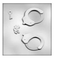Handcuffs Chocolate Mould