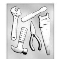 Tools Carpenter Chocolate Mould