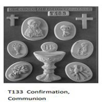 Confirmation Communion Chocolate Mould