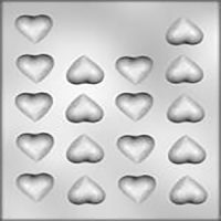 Hearts Small Hard Candy Mould