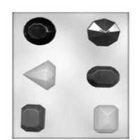 Jewels Faceted Mould