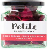 Petite Ingredient Dried Organic Edible Rose Petals Red