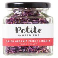 Petite Ingredient Dried Organic Edible Linaria Purple
