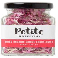 Petite Ingredient Dried Organic Edible Cornflower Pink