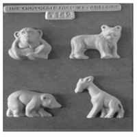 Zoo Animals Chocolate Mould