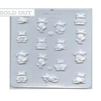 Frog hard Candy Mould