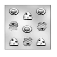 Bee Assortment Chocolate Mould