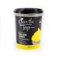 Over the Top Butter Icing - Yellow Vanilla Flavour 425gm