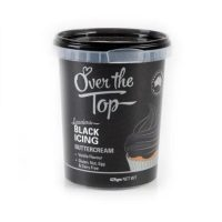 Over the Top Butter Icing - Black Vanilla Flavour 425gm