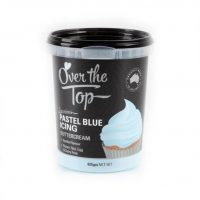 Over the Top Butter Icing - Pastel Blue Vanilla Flavour 425gm