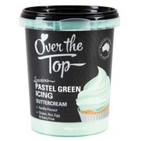 Over the Top Butter Icing - Pastel Green Vanilla Flavour 425gm