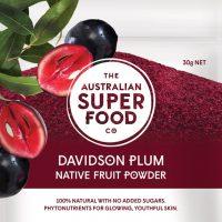 The Australian Super Food Co Freeze Dried Davidson Plum 30g
