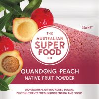 The Australian Super Food Co Freeze Dried Quandong Peach 25g