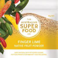 The Australian Super Food Co Freeze Dried Finger Lime 30g