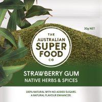 The Australian Super Food Co Strawberry Gum 20g