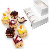 Multi Use Cupcake Box with Sleeve Large