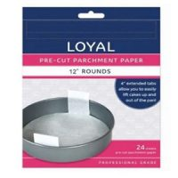 """Loyal Pre-Cut Parchment Paper 12"""" Round"""