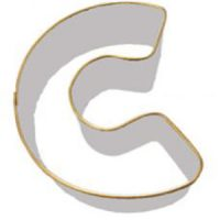 Letter C Cookie Cutter