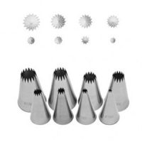 French Star Pastry Set of 8