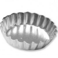 Quiche Pan with Solid Base 100mm